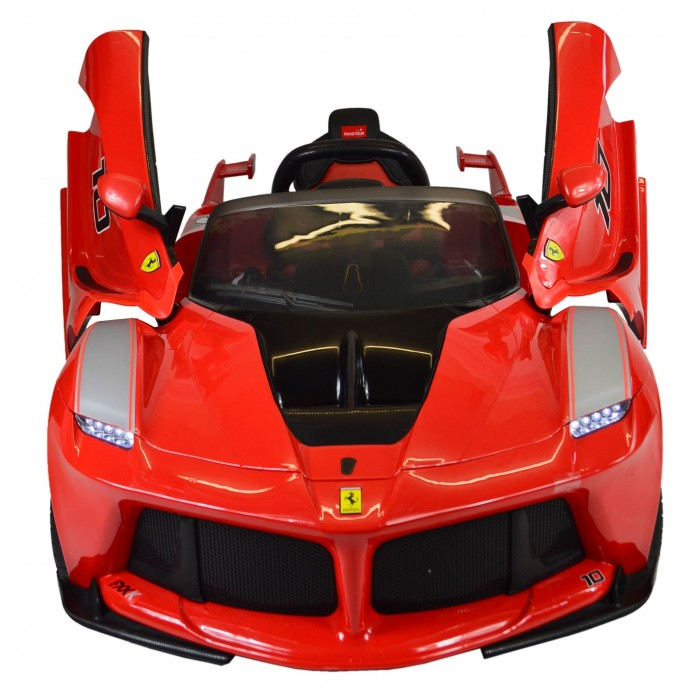 NEW 2019 La Ferrari FXXK Genuine Official Licensed Kids 12V Electric Ride On Car with MP3 and Remote Control Red